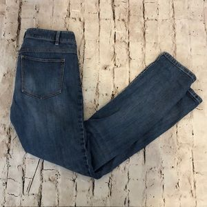 JJill Straight Fit Slim Boyfriend Jeans Size 2
